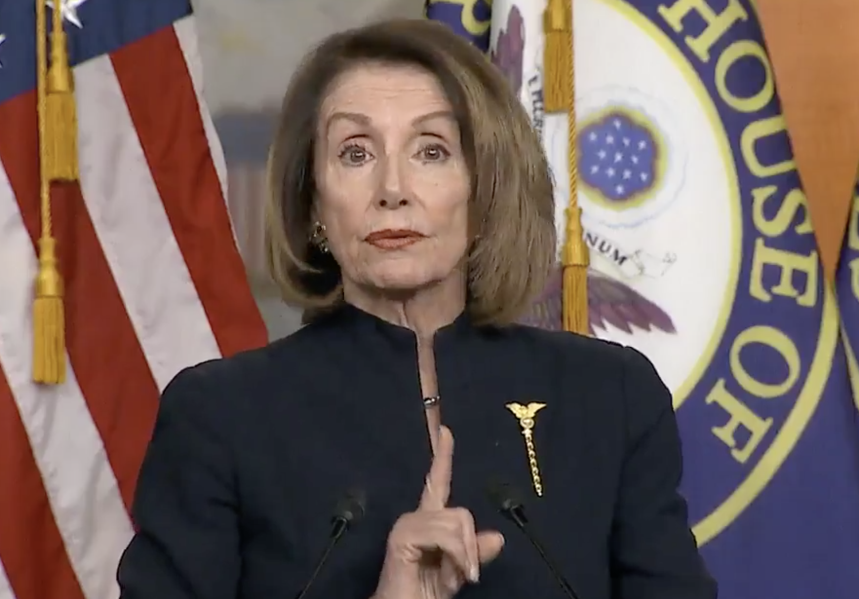 Speaker Pelosi To Trump: 'I Wish You Would Declare Gun Violence A National Emergency'