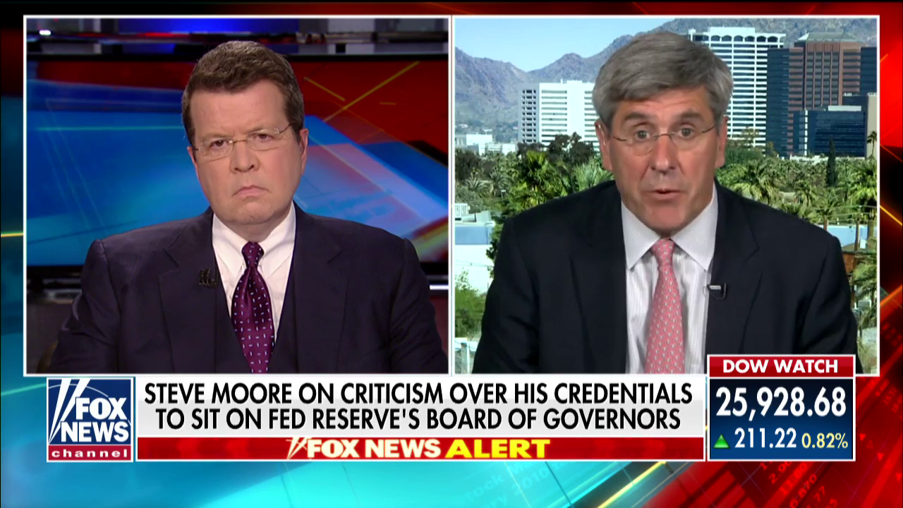 Stephen Moore Plays The Victim Over $75,000 Tax Lien In Friendly Fox News Interview
