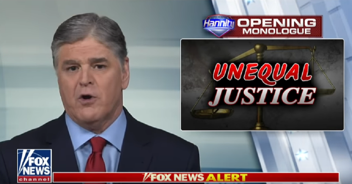 Hannity Urges Prosecution Of Trump's Political Foes