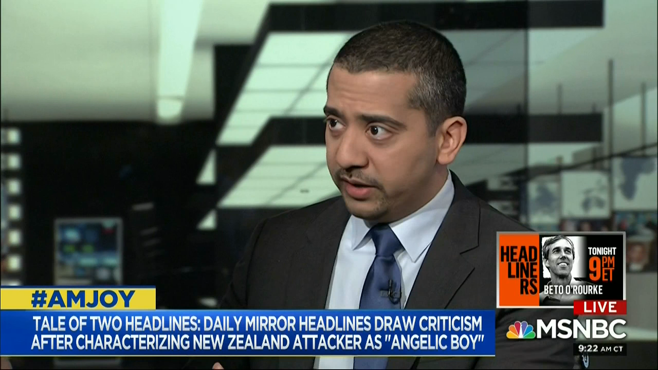 photo image Al Jazeera's Mehdi Hasan Blasts The Media For Lopsided Coverage Of Islamic Terrorism