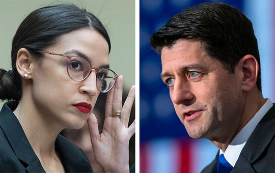 Paul Ryan Says He Tried To Give AOC Advice And She Ignored Him