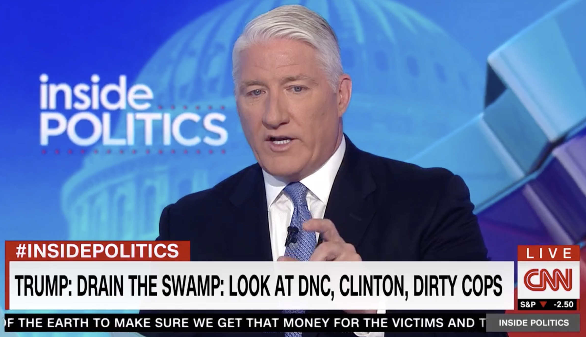 CNN Host Mercilessly Mocks Trump And Limbaugh: 'Hillary Is That Powerful?'