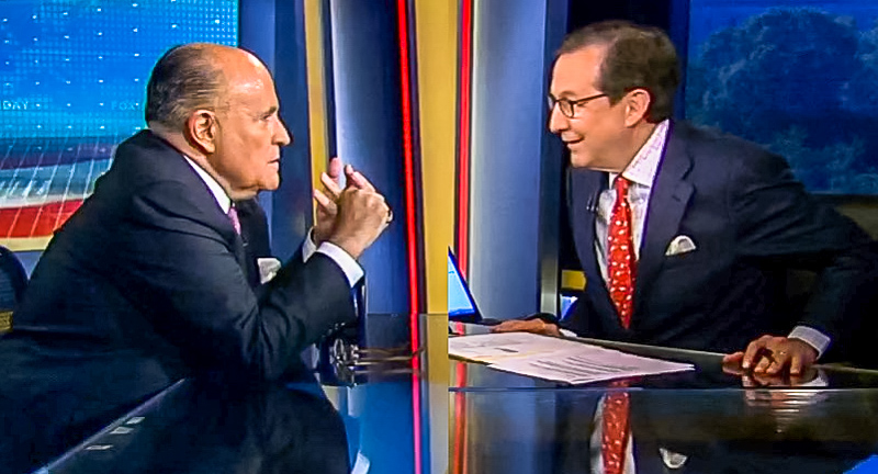 'Who Made You God?' Chris Wallace Gives Rudy Giuliani Epic Grilling Over Mueller Report