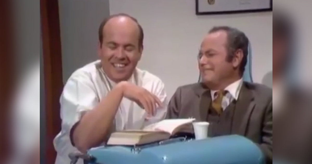 photo image Remembering Tim Conway:  'The Dentist'