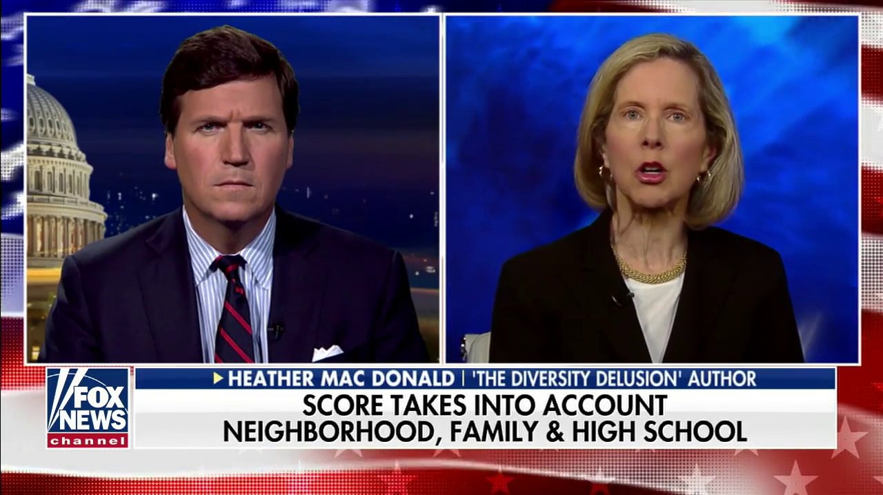 Tucker Carlson's White Power Hour Examines 'The Scourge Of Diversity'
