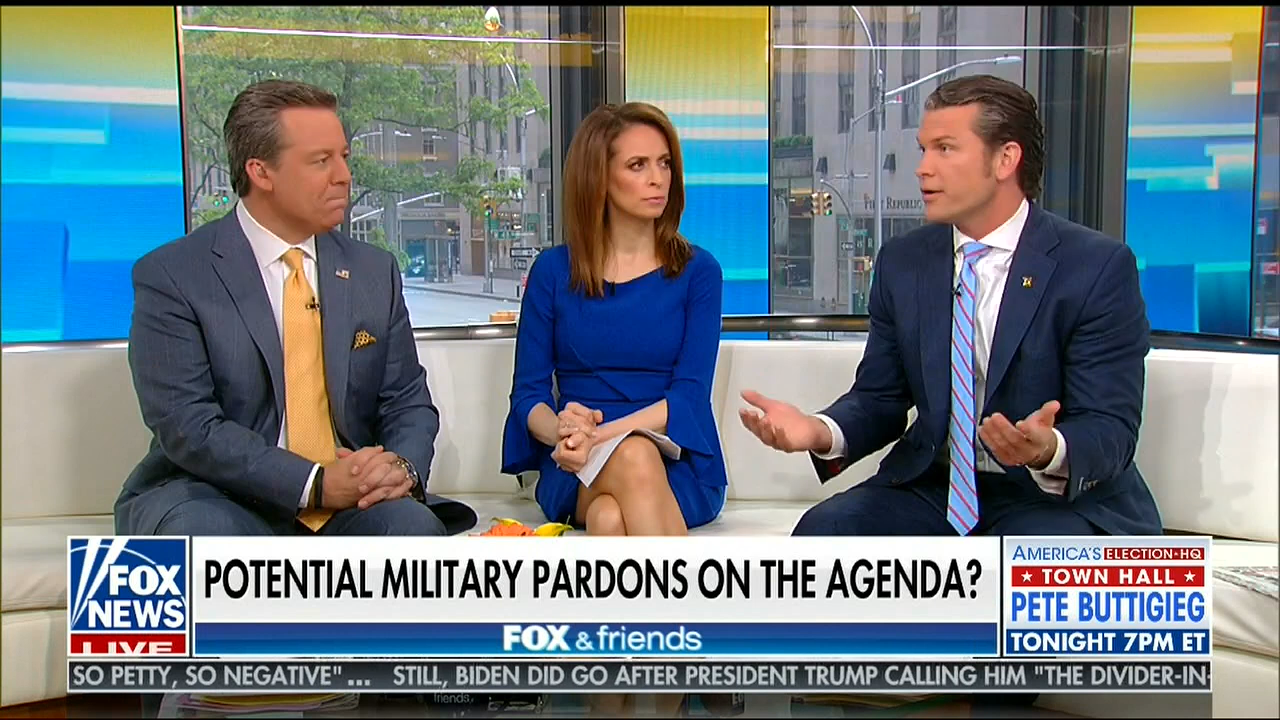 Fox's Pete Hegseth: Don't Dare Call Someone Convicted Of War Crimes A 'War Criminal'