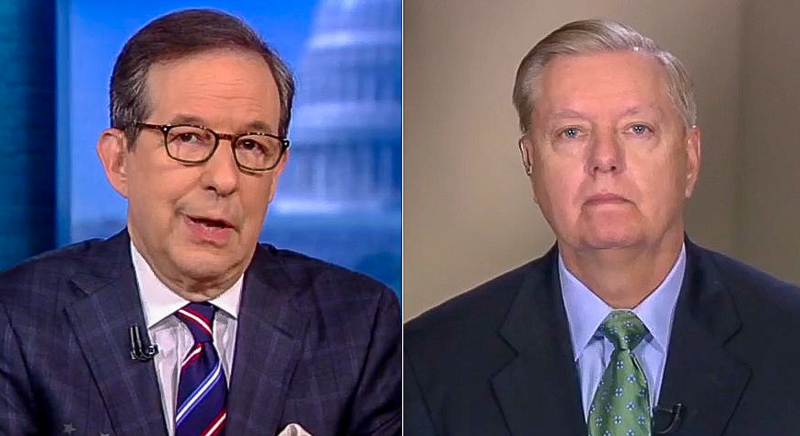 Chris Wallace Nails Lindsey Graham With Old Clips Of Himself Calling For Impeachment