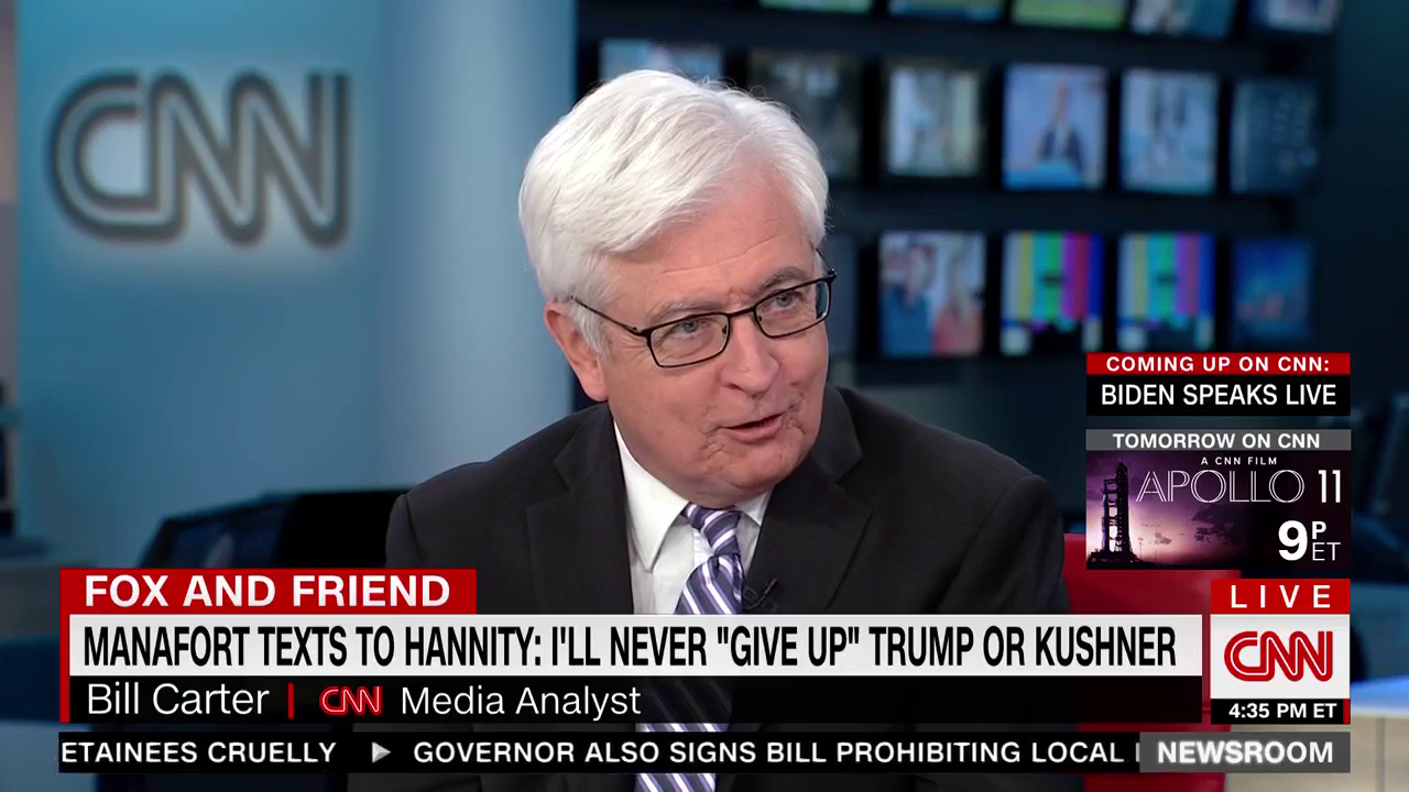 CNN Media Analyst Stunned To Discover Sean Hannity Is A 'Propaganda Operative' For Trump