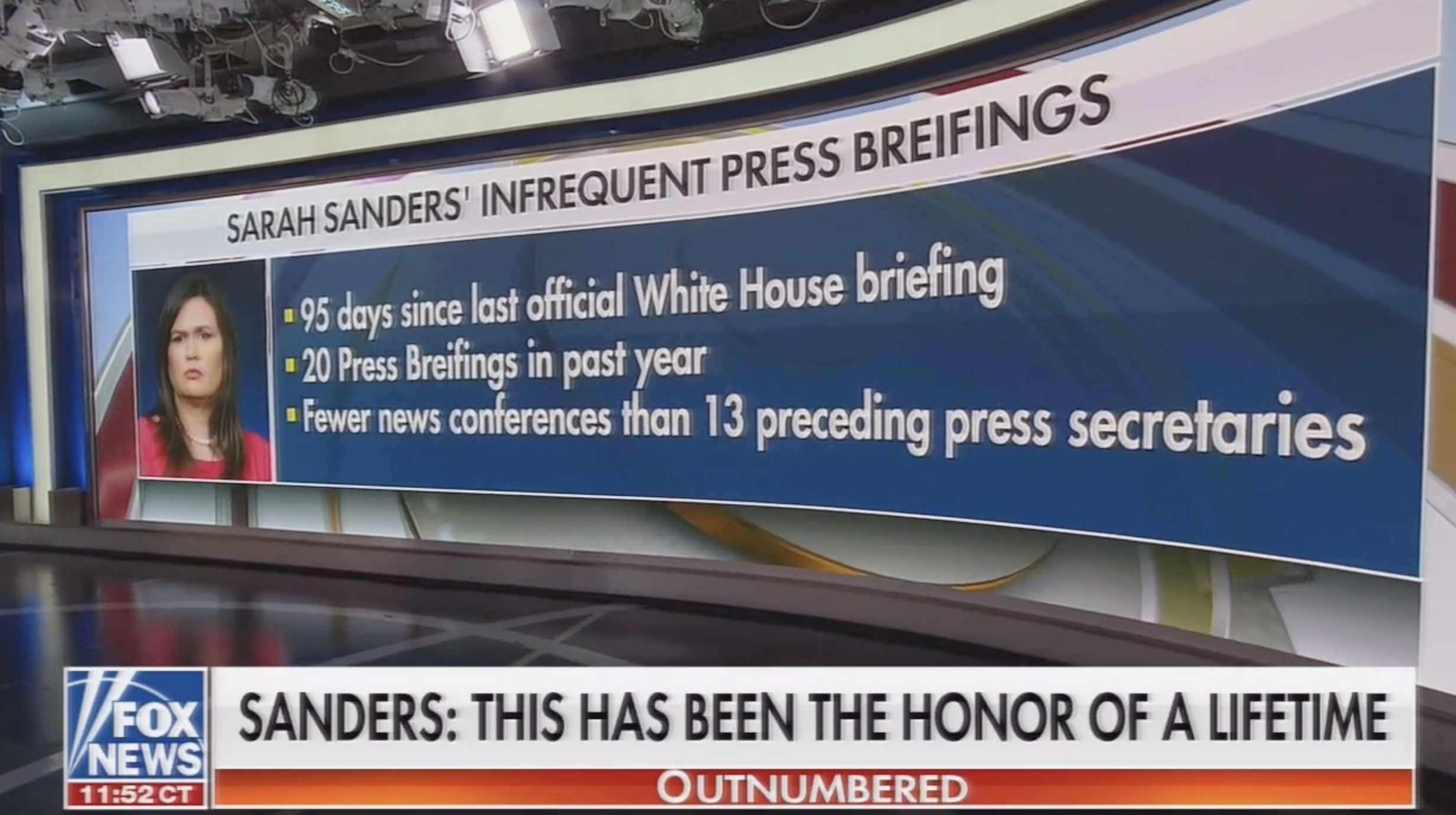 photo image Outnumbered Panel's Elegy For Sarah Sanders Ends With A Truth Bomb