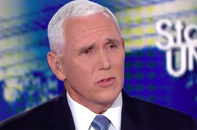 Jake Tapper Laughs In Mike Pence's Face Over Climate Change Claims