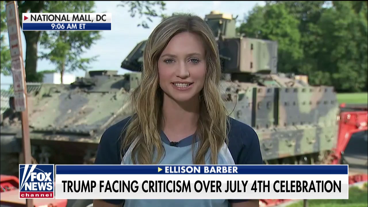 Fox News Fails To Note How Trump's July 4th Kleptocracy Will Probably Line His Pockets