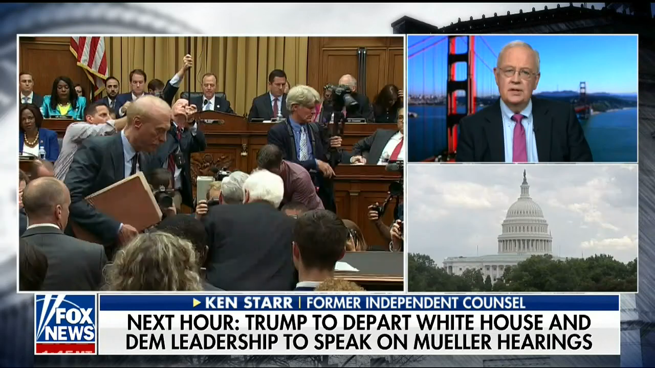 Ken Starr: Mueller Refusal To Exonerate Trump 'Payback' For Not Getting Interview