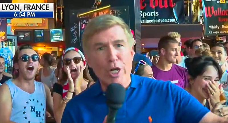 Sports Bar Crowd Chants 'F*ck Trump' On Fox News After US Wins World Cup