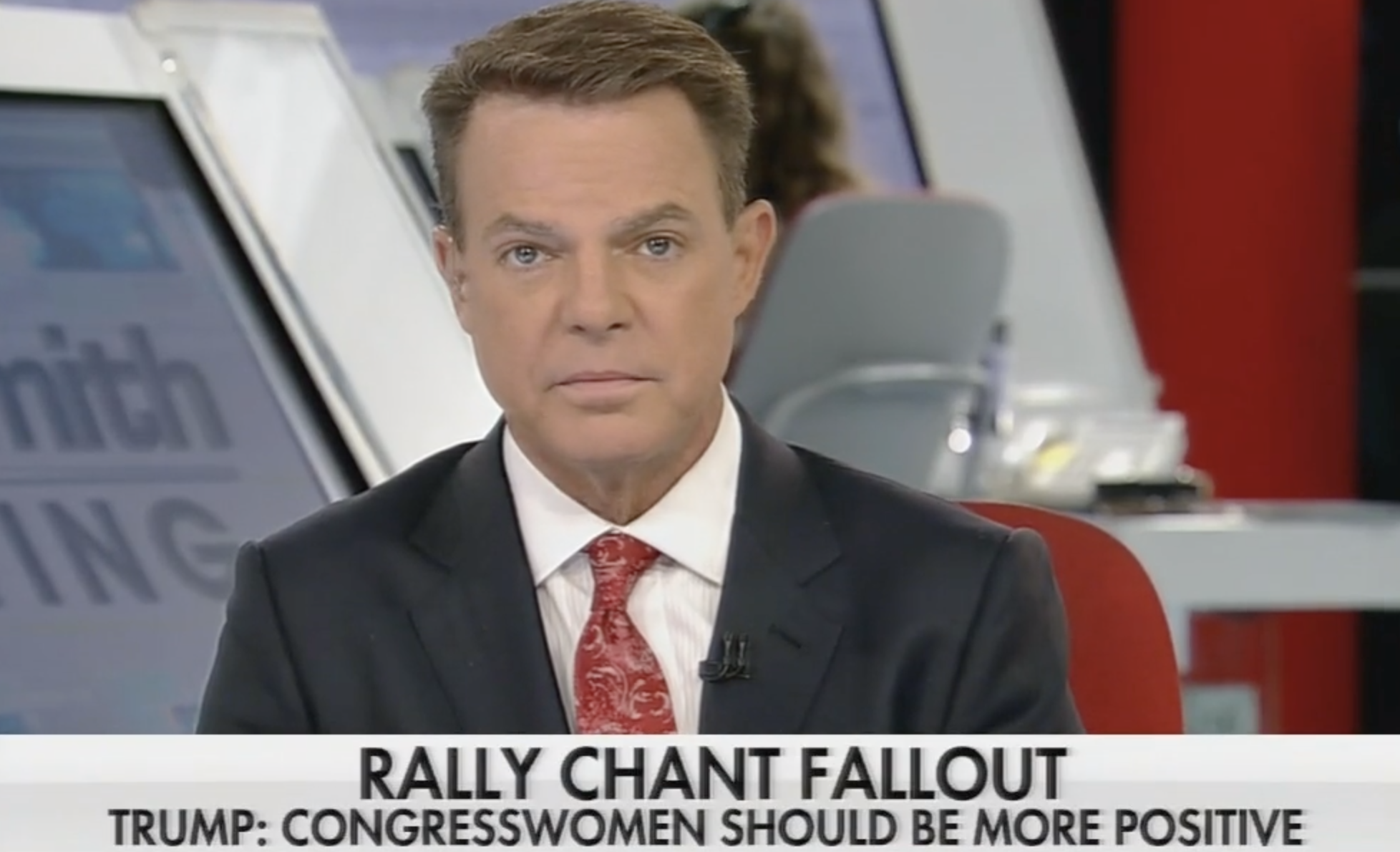 Shep Smith Fact-Checks Trump's Lies About Rally Chant