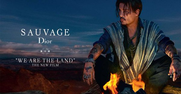 Dior Yanks Perfume Ad For 'Sauvage' That Features Native Americans