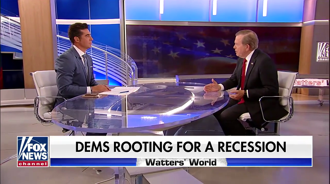 Fox Hosts Accuse Media Of Hyping Recession Fears Just Before Admitting The Trade War Might Cause 'Short-Term Pain'