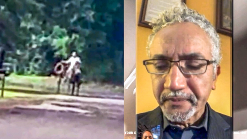 Black Journalist Says His Family Was Stopped By White Man On Horseback: 'These Are Texas Roads'