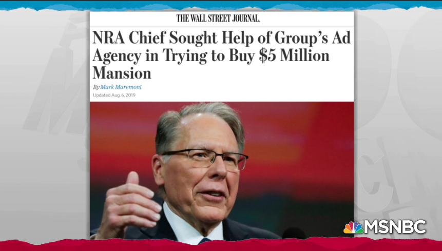 How Much Longer Will NRA Members Be Suckers Supporting Wayne LaPierre's Lavish Lifestyle?