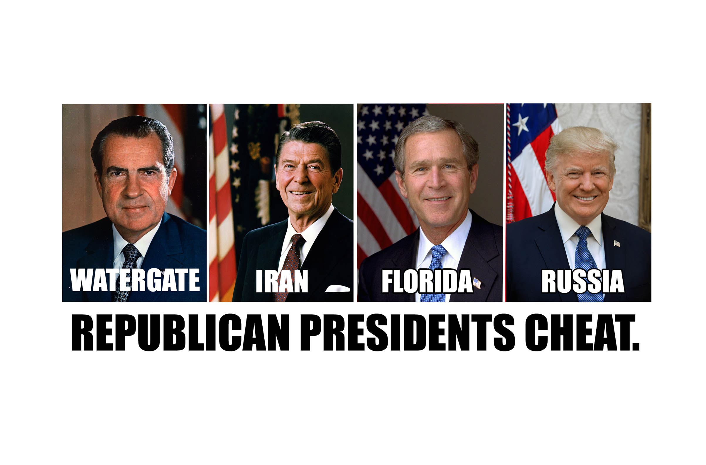 History Shows Republicans Cheat In Presidential Elections