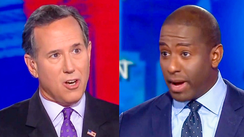 Andrew Gillum Smacks Santorum For Nonsense On How Guns Aren't The Problem: 'That Is Ridiculous'