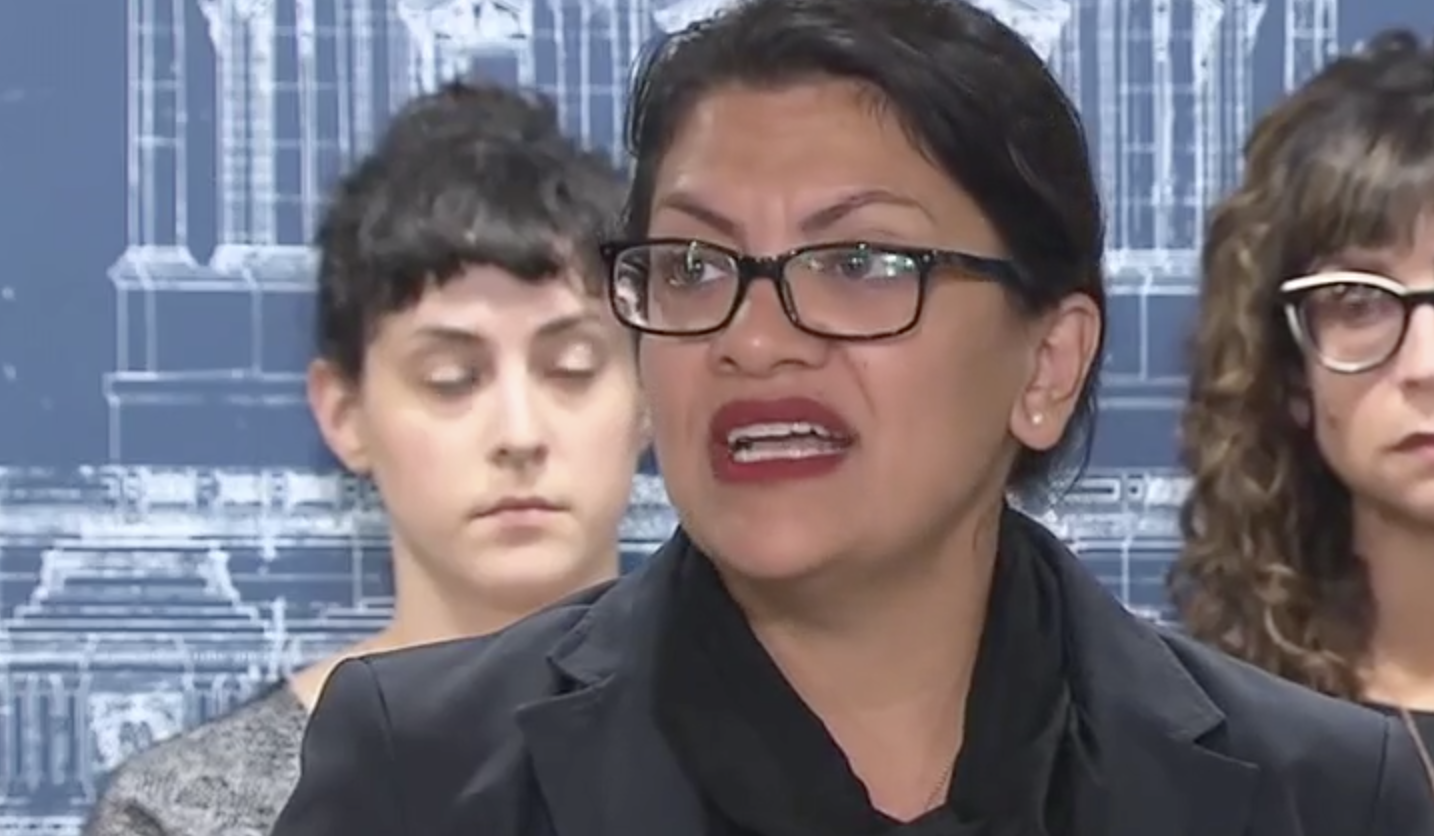 Rep. Rashida Tlaib Breaks Down While 'Humanizing The Pain Of Oppression'
