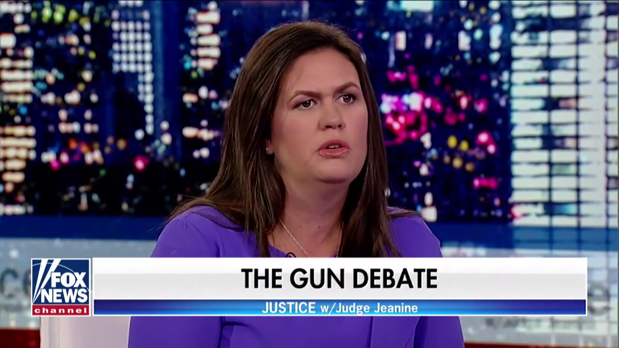 Huckabee Sanders: Mass Shootings 'Not As Much A Gun Issue' As A 'Moral Issue'