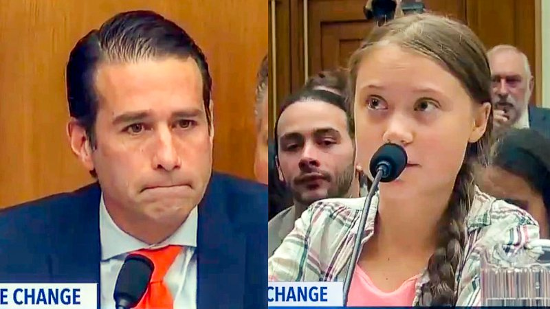 16-Year Old Climate Activist Smacks Down Rep. Graves (R-Oil)