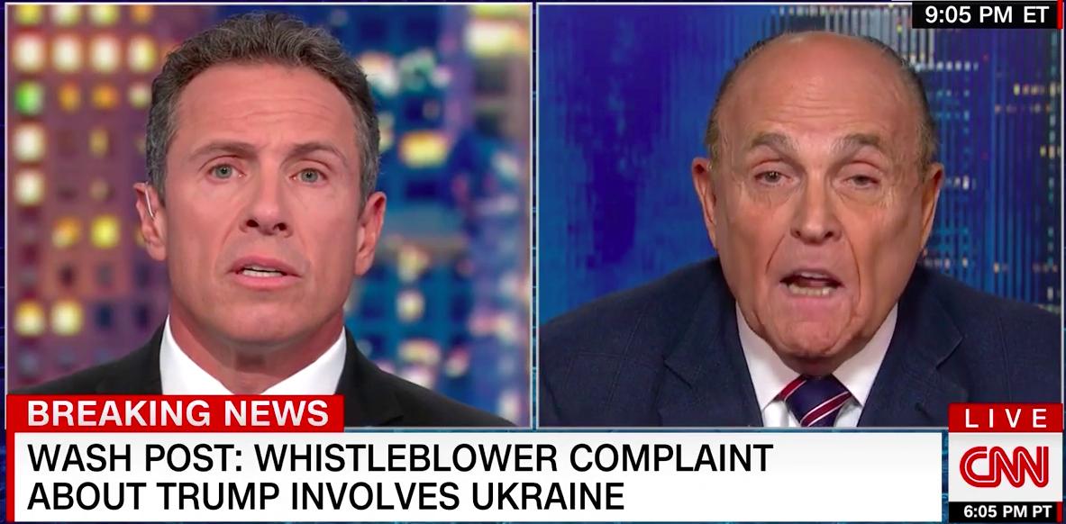 Crazed Rudy Giuliani Lies, Then Admits He Asked Ukraine To Investigate Joe Biden