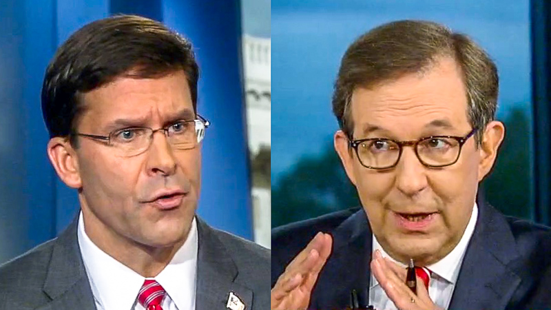 Chris Wallace Grills Trump's Defense Secretary: Syria Withdrawal Is 'The Definition Of Abandoning The Kurds'