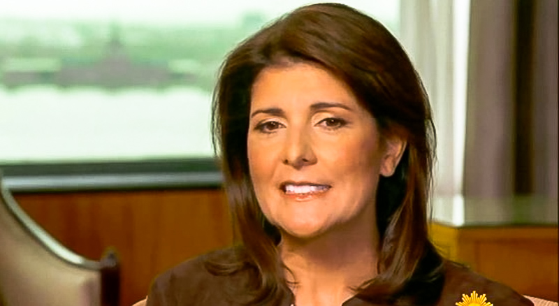 Nikki Haley Defends Trump's 'Go Back' Slur On Dem Reps: 'I Appreciate Where He Was Coming From'
