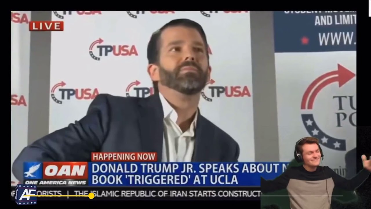 Donald Trump Jr Booed Off Stage At Book Launch By His Own Supporters