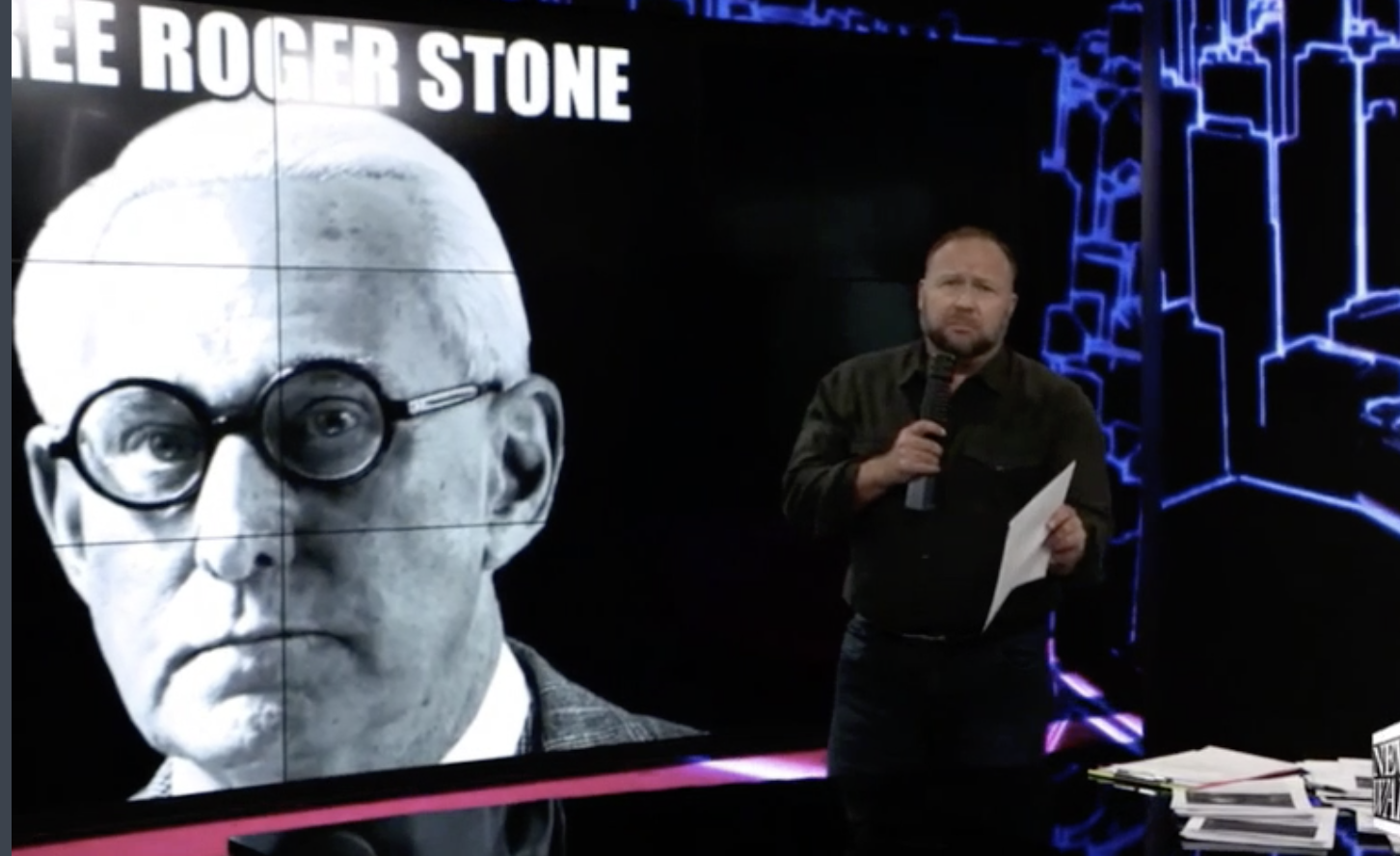 As Jury Deliberates, Roger Stone Sends A Message To Trump: 'Pardon Me'