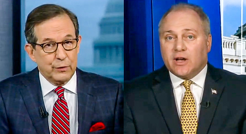 Chris Wallace Shuts Down Steve Scalise: 'We're Not Talking About The Whistleblower'
