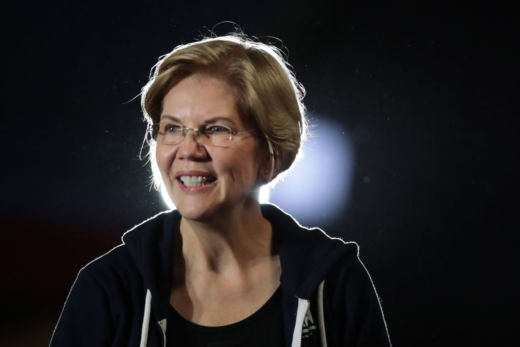 Elizabeth Warren Shares Emotional Moment With Young Supporter At Town Hall