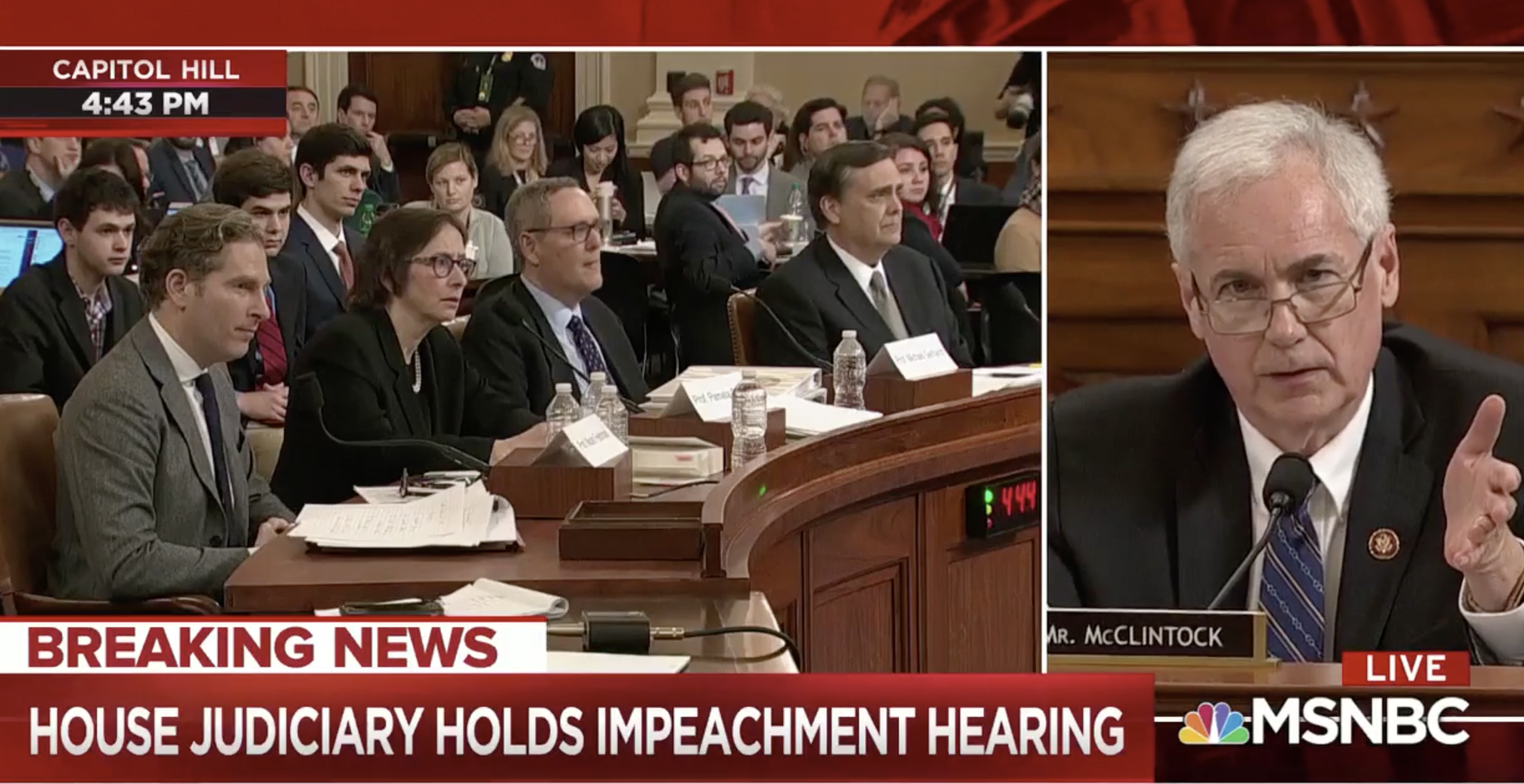 Impeachment Witnesses Stand Their Ground When GOP Rep. Bullies Them