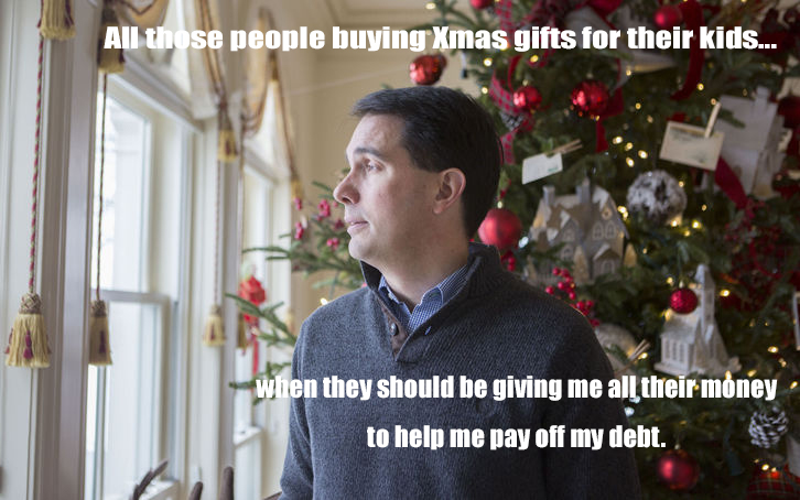 Scott Walker Renews His War On Christmas