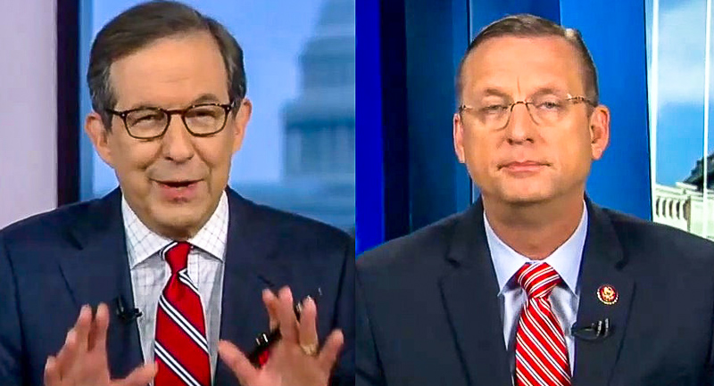 Chris Wallace Jabs Doug Collins After He Says Schiff Must Be First Witness: 'You Obviously Had Some Turkey'