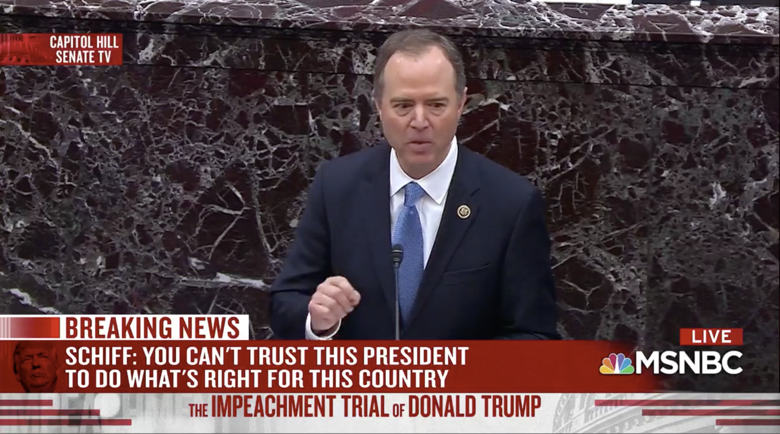 Adam Schiff Argues For Trump's Removal: 'If Truth Doesn't Matter, We're Lost'