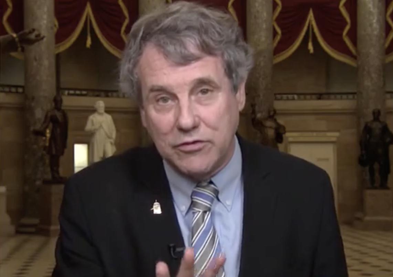 Sen. Sherrod Brown Rips 'Spineless Republicans', Trump's 'Lapdog' McConnell