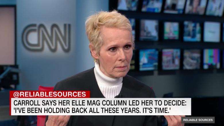 E. Jean Carroll Fired By Elle Magazine, And She Blames Trump