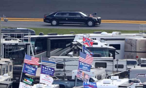 Everything Trump Touches Dies, Rained-Out Daytona 500 Edition