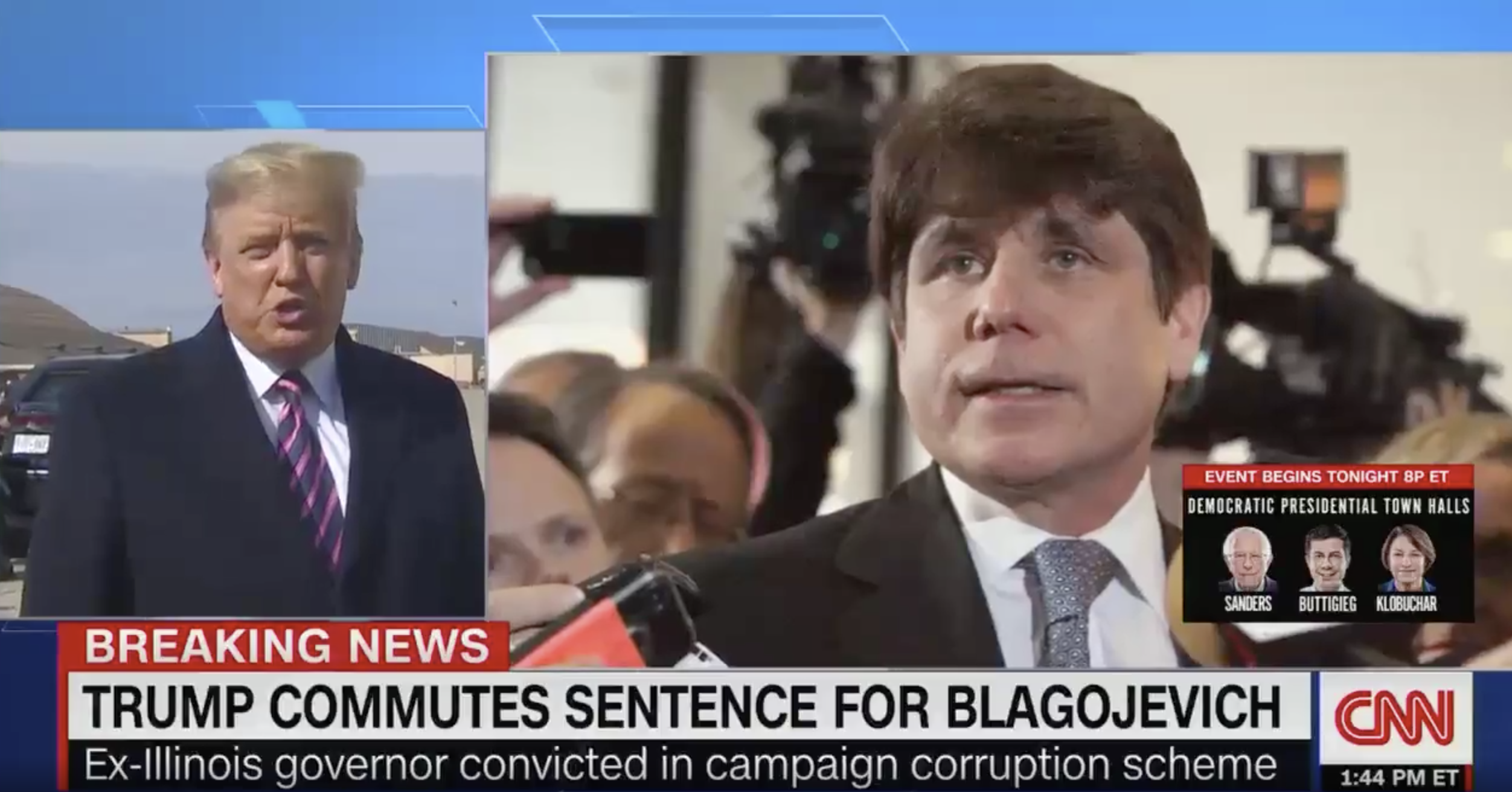 Trump Explains Blagojevich Pardon: 'I Watched His Wife' On Fox News