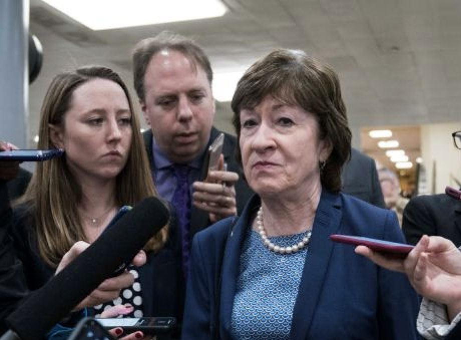 Susan Collins Is Disappointed — Again