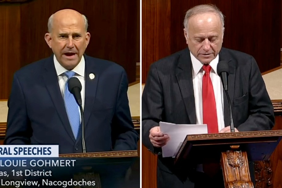 GOP Reps. Gohmert And King Spew Right-wing 'Deep State' Conspiracy Theories On Floor Of U.S. House