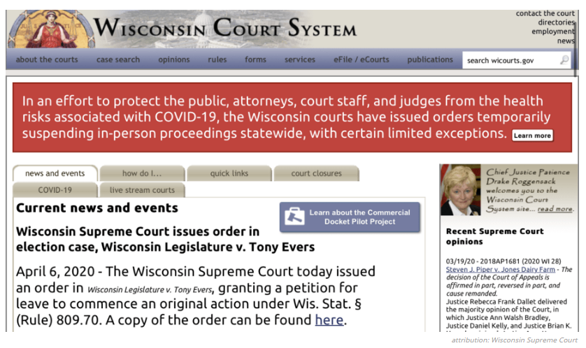 Nakedly Partisan Wisconsin Republicans: Safety For Me But Not For Thee!