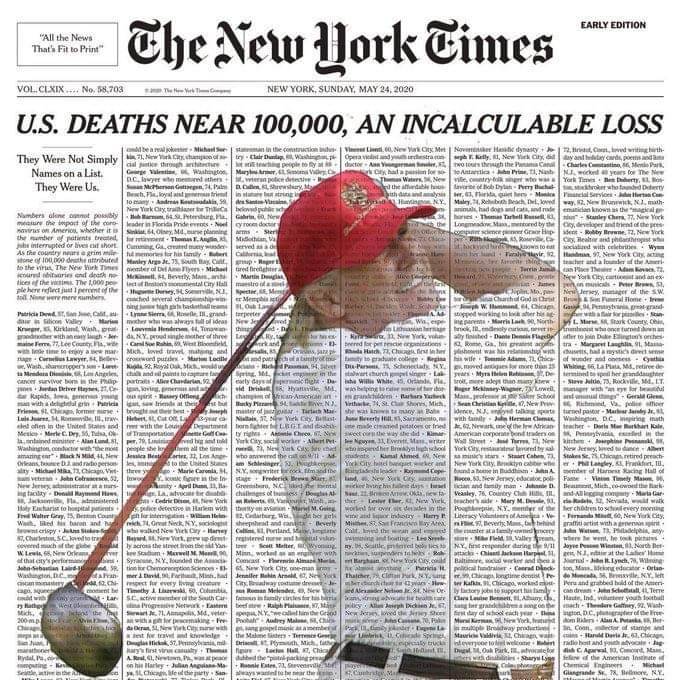 Trump Golfs While More Americans Die