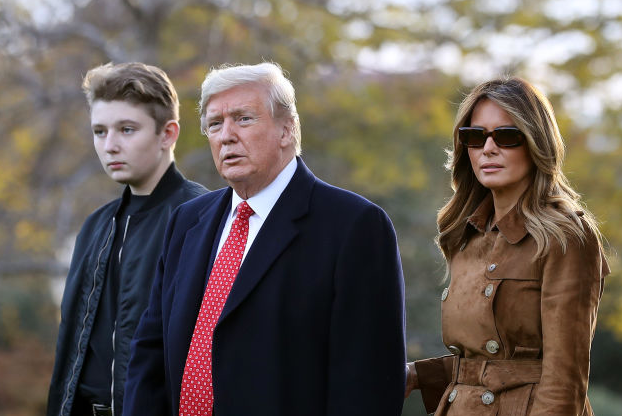 Will Reporters Ask If Barron Trump Is Returning To Rapidly Reopened Schools?