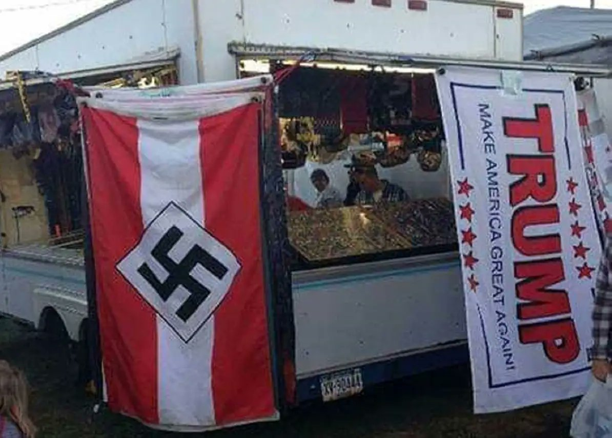 Trump's Campaign Merchandise Targets Neo-Nazis As Primary Market