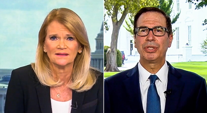 Steve Mnuchin Complains People Are Being 'Overpaid' On Unemployment