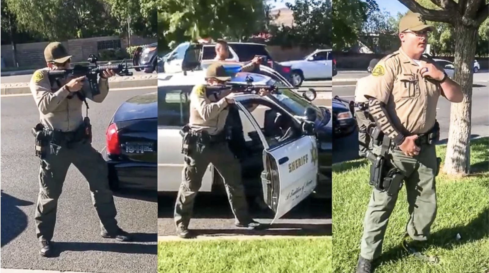 California Cops Point Guns At Black Teens Who Were Being Threatened By Homeless Man